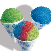 snowcone supplies